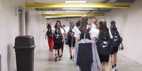 Girls' basketball making history