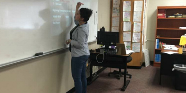 Pre-AP Spanish students will be getting their third teacher of the year as Wednesday is the last day for long term sub Victoria Gudino.