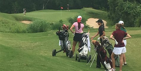 Golf drives to district