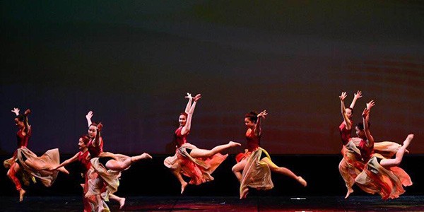 Freshman Rachel Guo's background in traditional Chinese dance lends her a different background for dancing on the drill team.