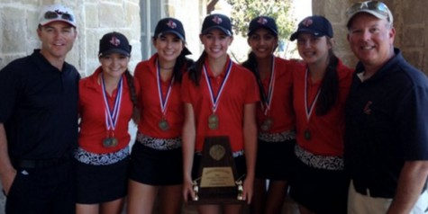 A three-peat for girls' golf team