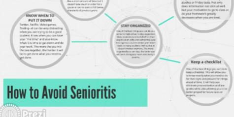Tips on avoiding senioritis