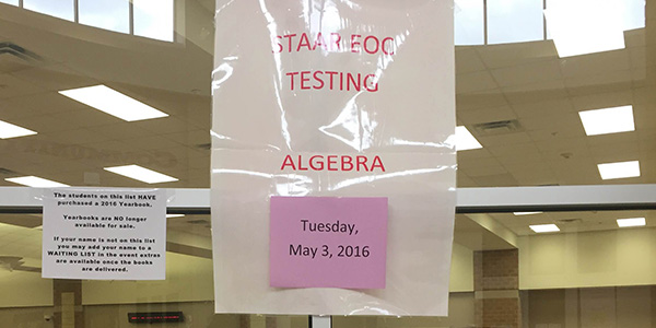 Tuesday marks the return of STAAR testing and for guest contributor Dea-Mallika Divi it's a good time to remind students how a few things can make a big difference on test day.