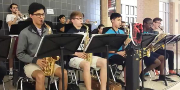 an analysis of the performance of the jazz ensembles concert A jazz band is a musical ensemble that plays jazz music jazz bands vary in the  quantity of its  it's common for musicians in a combo to perform their music from  memory  a history and analysis of jazz drumming to 1942 university of.