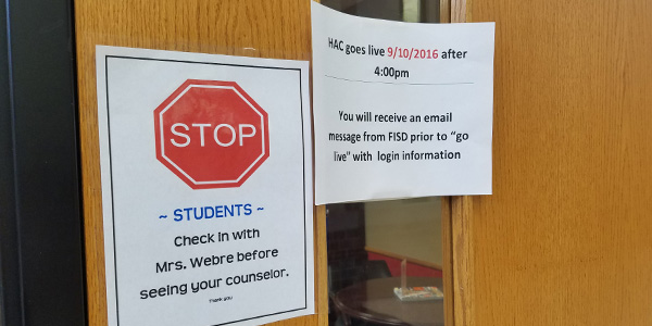 The Home Access Center hasn't been available for students and parents to see grades for the first three weeks of the school year but it is scheduled to go live Saturday after 4:00 p.m.