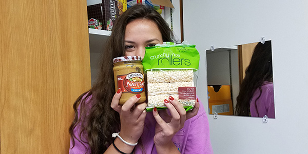 A gluten free diet can be a bit challenging at times, but for WTV Executive Producer Eilidh McGarva there are plenty of foods she can still eat such as peanut butter and rice rollers.