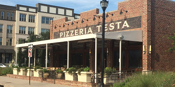 PIzzeria Testa offers a variety of authentic Italian foods.