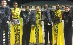 The band started a busy month with a third place finish in the Golden Triangle Classic in Denton.