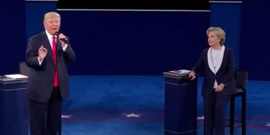 During the second Presidential Debate held on October 9, both candidates addressed their current controversies.
