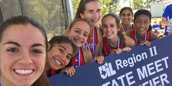 The girls' cross country team finished in second place at the 5A-Region II meet Saturday. The top four teams qualified for state. Joining the girls' in Round Rock, seniors Nick Wynne and Josh Akin who both qualified individually.