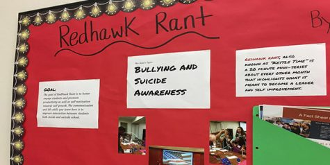 Redhawk Rants will be used to raise awareness about drug abuse.