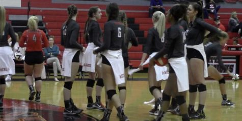 Volleyball falls to Frisco Friday night