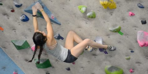 Kwon travels to China for rock climbing competition
