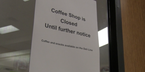 Foul smell closes Coffee Shop