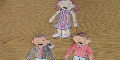 French works on Flat Stanley project