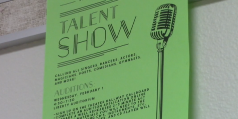 Talent show auditions Wednesday