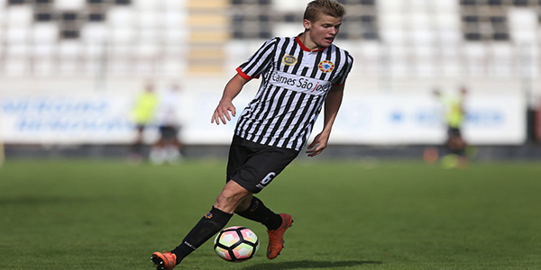 At one time, 2015 graduate Keaton Parks considered continuing his soccer career at SMU, but decided to pursue his dream by moving to Europe where he now plays with Varzim S.C. in Portugal's 2nd division.