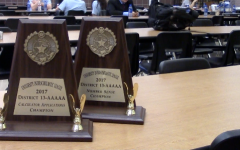The school hosted the District 13-5A UIL Academic Meet Friday and Saturday with the top three individuals in each event advancing to the Regional meet along with the top team in each team event advancing.