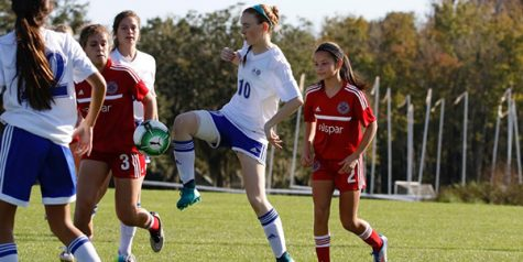 Freshman's passion stokes fire in soccer team