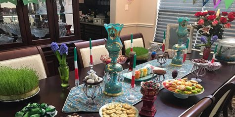 Persian New Year marks blooming of spring