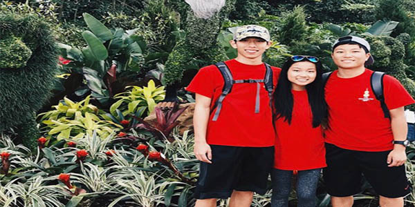 A long bus ride from Frisco to Florida was worth it to orchestra seniors Austin Satrio, Grace Leung, Ethan Kim (pictured left to right) as they spent several days visiting several tourist attractions including EPCOT and Disney World.