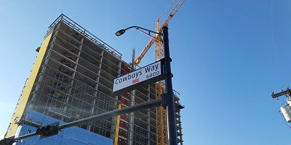 Currently under construction the Omni Hotel at The Star is scheduled to be opened by the time the 2018 NFL Draft would be held.