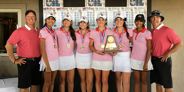 Winning+by+63+strokes%2C+the+girls%27+golf+team+makes+yet+another+trip+to+the+state+tournament.