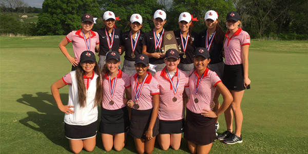 Entering+two+golf+teams+in+the+District+13-5A+tournament%2C+the+girls%27+golf+team+took+first+and+third+with+the+red+team+claiming+its+fourth+straight+district+championship.