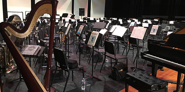 The All-Region orchestra clinic and concert has been moved to Independence High School.