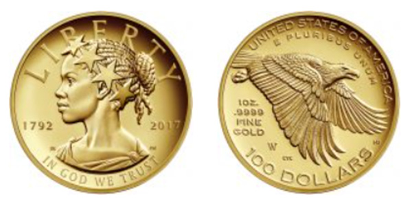 The newest Lady Liberty coin features an African American woman and despite its price, many like the new face on the currency that appears every two years.