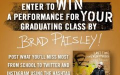 Class of 2017 has chance to win private Brad Paisley concert