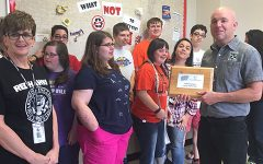 School receives recycling recognition