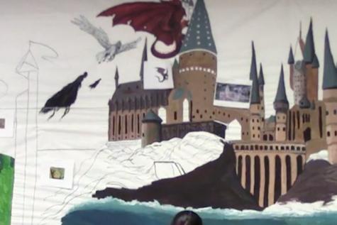 Economics classroom undergoes magical makeover