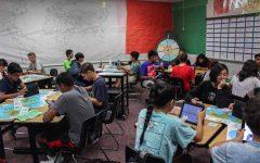 Testing students progress