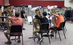 Aiming for All-State, some band students audition at 6A level