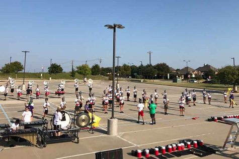 Marching band sets sights on state