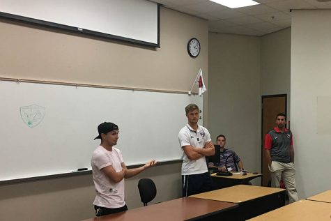 Soccer pros break down the future for current Redhawks