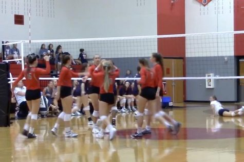 Volleyball topples the Titans