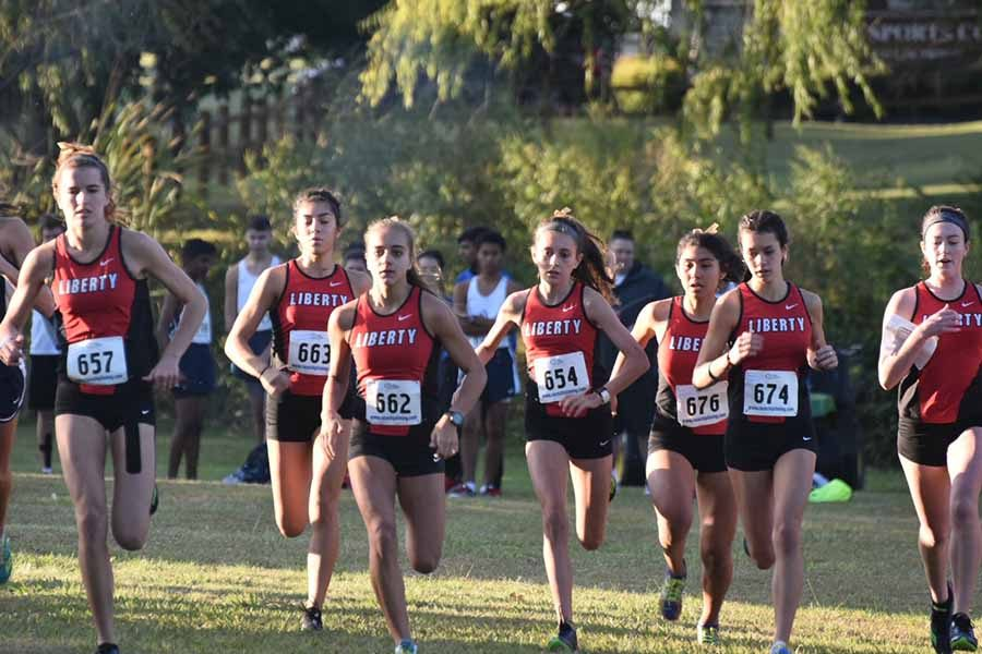 Girls%27+cross+country+takes+1st+at+district+meet
