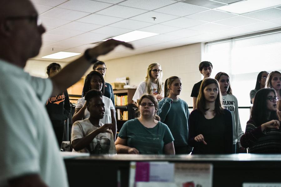 Choir hopes to strike a chord at UIL – WINGSPAN