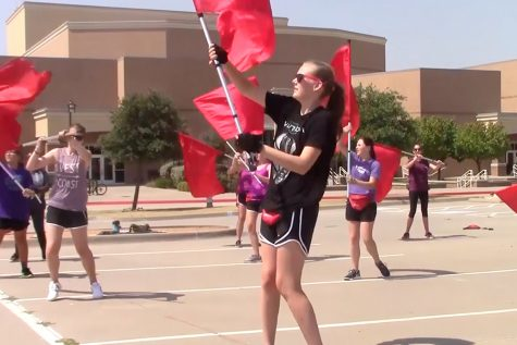 Competition season begins for color guard