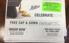 Jostens selling grad items Tuesday and Wednesday
