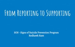 Suicide prevention the focus of Wednesday's Redhawk Rant