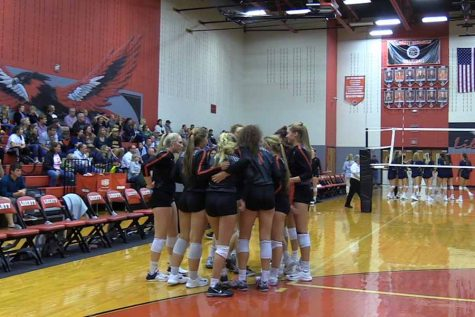 Volleyball clinches 2nd place in District 13-5A