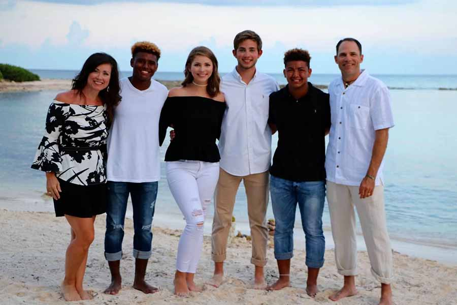 Moving from Temple to Frisco, Dimitri and Jordan were welcomed with open arms by the Roehrig family as aunt Mindy, cousins Madalyn and Matthew, along with uncle Mike embraced the brothers and involved them in everything including family vacations.