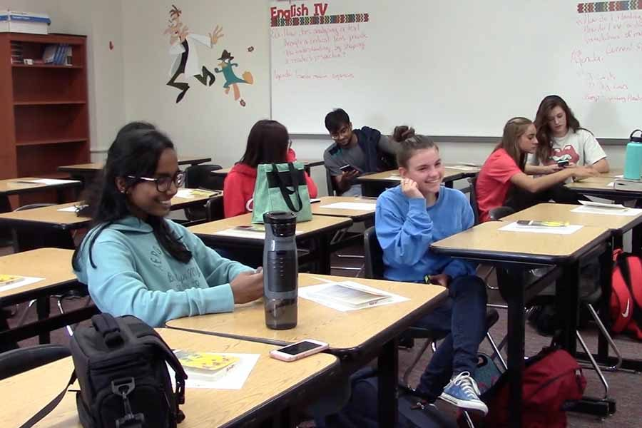 Students in the Model UN club try to mimic the real United Nations by picking countries and having debates. Their first conference of the year took place on Saturday at the International Leadership of Texas Garland High School.