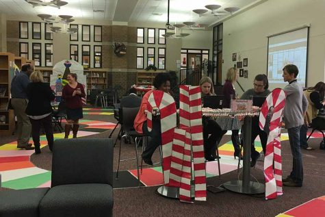 Library transforms into Candy Land for technology extravaganza