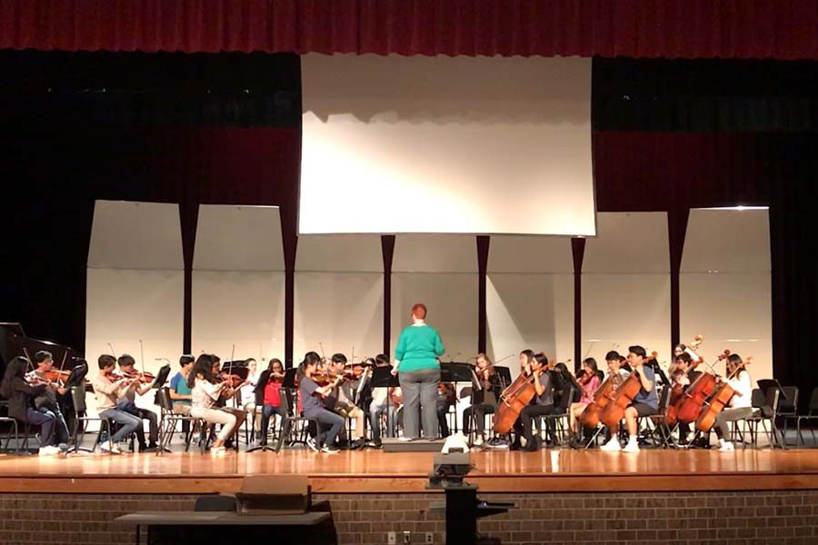 After weeks of practice, many all-state orchestra students on traveled to San Antonio's Henry B. Gonzalez Convention Center on Feb. 14 to compete.