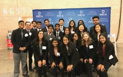 DECA starts new semester with district meet
