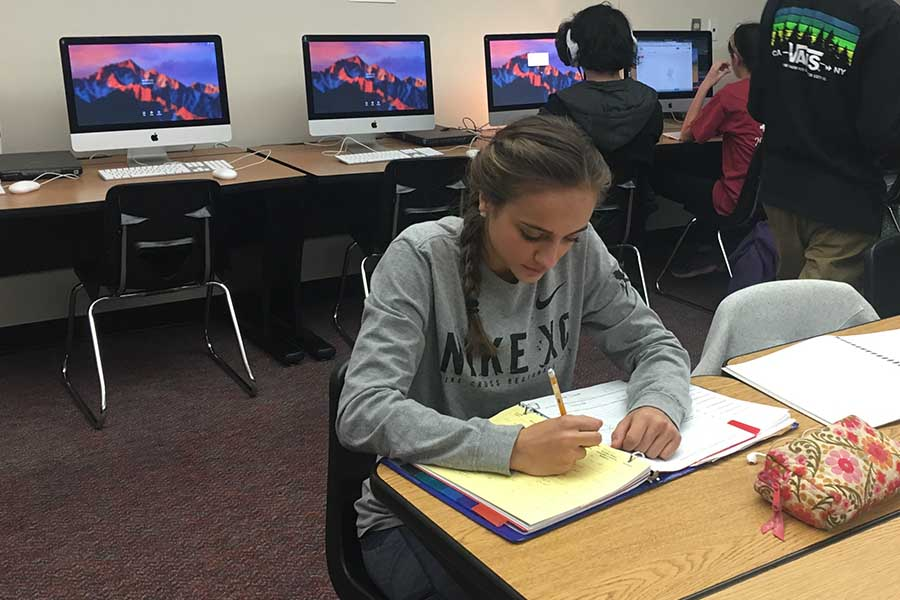 """Student-athletes competing in school sports have their athletic periods count as two on-level classes, which also takes away two of their electives which limits some students when it comes to choosing classes.  """"I do think I am limited,"""